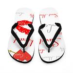 OYOOS Swee Heart design Flip Flops