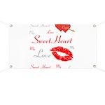 OYOOS Swee Heart design Banner