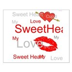 OYOOS Swee Heart design Small Poster