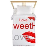 OYOOS Swee Heart design Twin Duvet