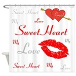 OYOOS Swee Heart design Shower Curtain