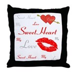 OYOOS Swee Heart design Throw Pillow