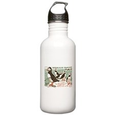 France Atlantic Puffin Stamp 1960 Water Bottle