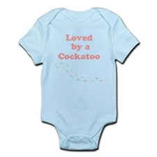 Loved by a Cockatoo Infant Bodysuit
