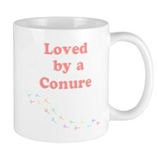 Loved by a Conure Mug