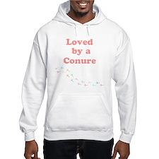 Loved by a Conure Hoodie Sweatshirt