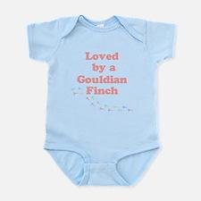 Loved by a Gouldian Finch Infant Bodysuit