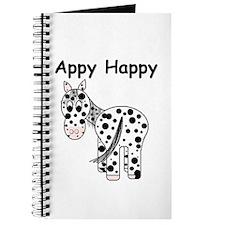 Appy Happy, Leopard Appaloosa Journal