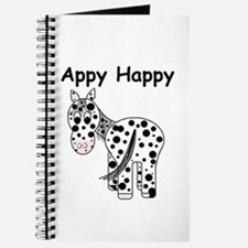 Appy Happy, Leopard Appaloosa Journal