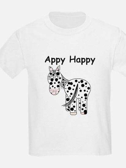 Appy Happy, Leopard Appaloosa T-Shirt