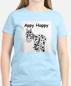 Appy Happy, Leopard Appaloosa T-Shirt