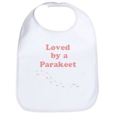Loved by a Parakeet Bib