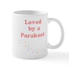 Loved by a Parakeet Mug