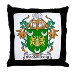 MacKillikelly Coat of Arms Throw Pillow