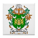 MacKillikelly Coat of Arms Tile Coaster