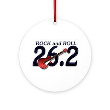 Rock and Roll MArathon Ornament (Round)