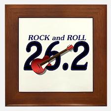 Rock and Roll MArathon Framed Tile