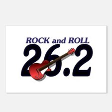 Rock and Roll MArathon Postcards (Package of 8)