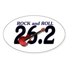 Rock and Roll MArathon Decal
