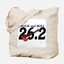 Rock and Roll MArathon Tote Bag