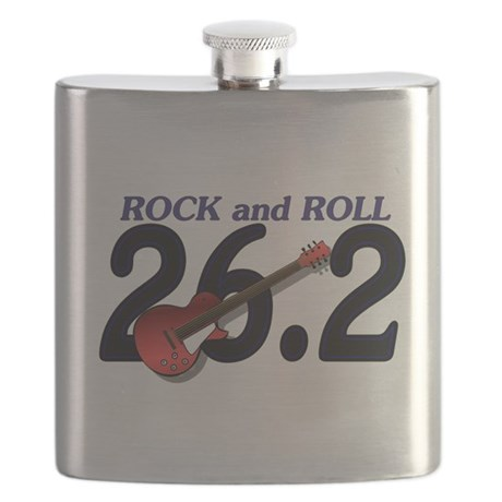 Rock and Roll MArathon Flask