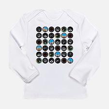 Flight Instruments Long Sleeve Infant T-Shirt