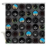 Aviator Shower Curtains