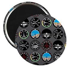"Flight Instruments 2.25"" Magnet (100 pack)"