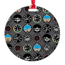 Flight Instruments Ornament