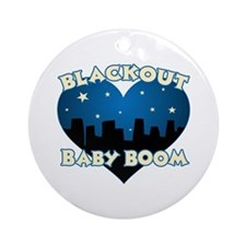 Blackout Baby Boom Ornament (Round)