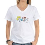 "The ""Chase"" Women's V-Neck T-Shirt"