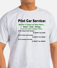 3 Types of Service T-Shirt