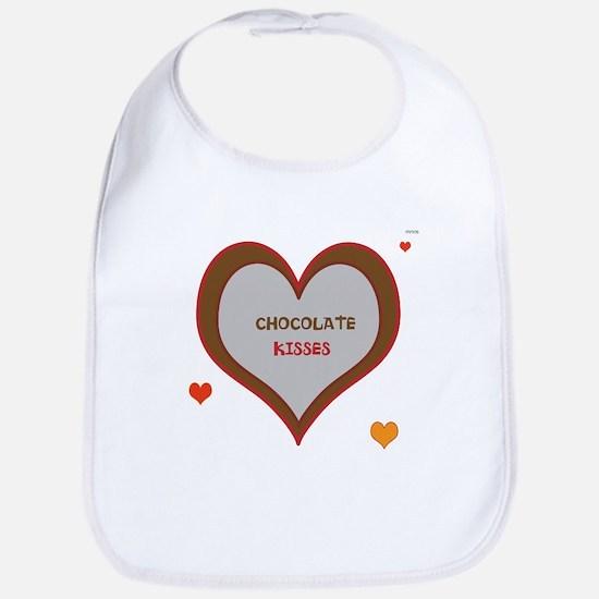 OYOOS Chocolate Heart design Bib