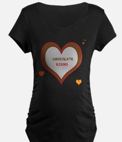 OYOOS Chocolate Heart design T-Shirt