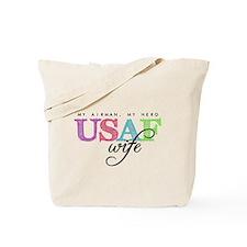USAF Wife Tote Bag