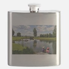 Vermont sky Flask