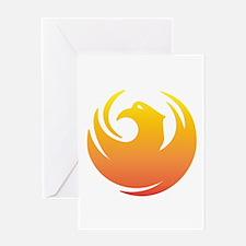 Phoenix Seal Greeting Card