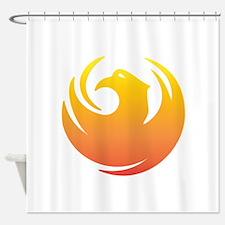 Phoenix Seal Shower Curtain