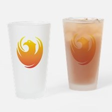 Phoenix Seal Drinking Glass