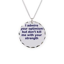 optimism and strength Necklace