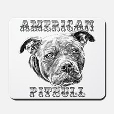 American Pitbull Mousepad
