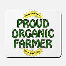 Proud organic Farmer Mousepad