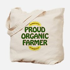 Proud organic Farmer Tote Bag