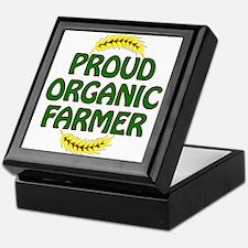 Proud organic Farmer Keepsake Box