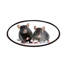 2 rats Patches