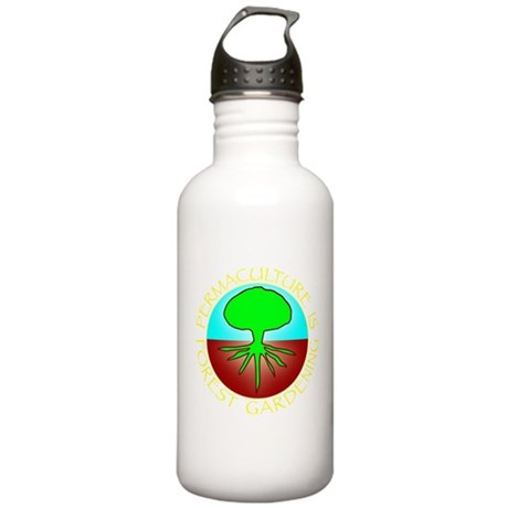 Permaculture2.png Stainless Water Bottle 1.0L