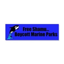 Shamu Car Magnet