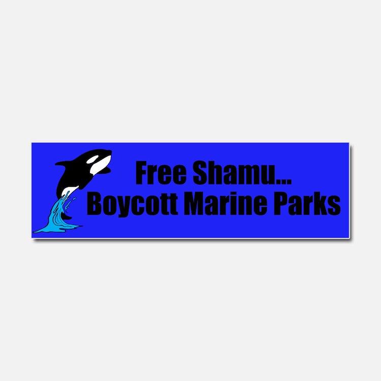 Shamu Car Magnet