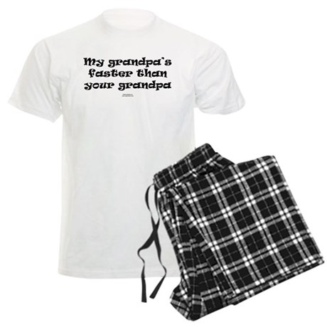 Grandpa faster than grandpa.png Men's Light Pajama