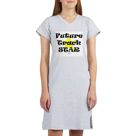 Future Track STAR.png Women's Nightshirt
